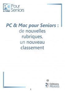 PCS Une nouvelle rubrique