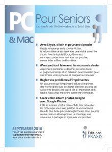 PC & Mac pour Seniors - septembre 2016